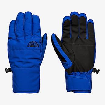 Синие детские сноубордические перчатки cross