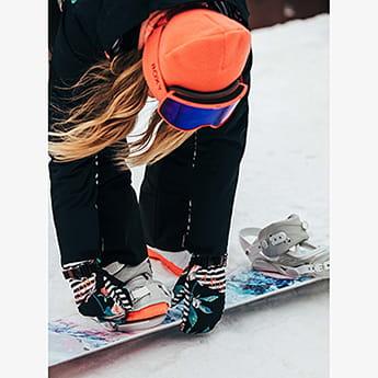 Мультиколор женские сноубордические варежки roxy jetty