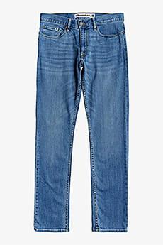 Синие прямые джинсы worker