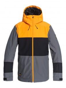 Желтый мужская сноубордическая куртка sycamore