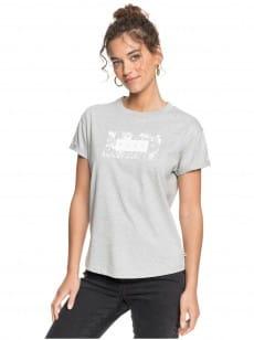 Серый женская футболка epic afternoon