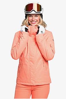 Персиковый женская сноубордическая куртка jet ski solid