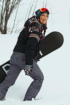 Темно-розовый женские сноубордические штаны pop snow summit