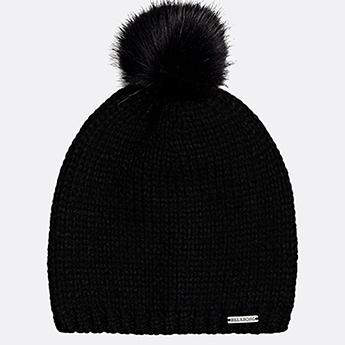 Черные женская шапка
