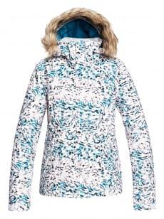Белый женская сноубордическая куртка jet ski
