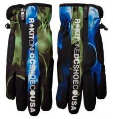 Мультиколор мужские сноубордические перчатки rokit salute