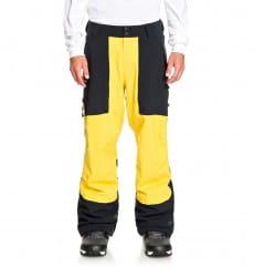 Синий мужские сноубордические штаны squadron
