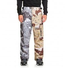 Мультиколор мужские сноубордические штаны division shell