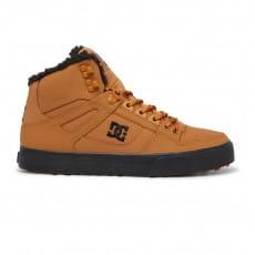 Коричневый мужские высокие зимние ботинки pure wnt