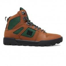 Бежевый мужские зимние ботинки pure high-top