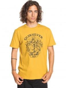 Желтый мужская футболка quiet darkness