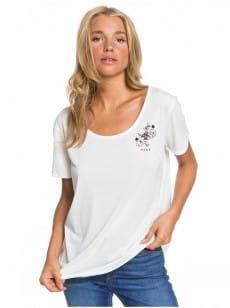 Белый женская футболка cocktail hour