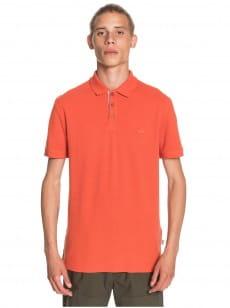 Оранжевое мужская рубашка-поло loia polo
