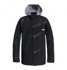 Черный мужская сноубордическая куртка agent