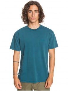 Бирюзовый мужская футболка acid sun