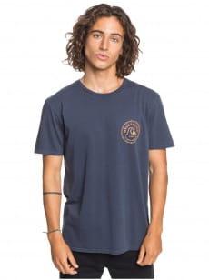 Синий мужская футболка devils wink
