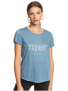 Голубой женская футболка call it dreaming