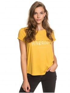 Желтый женская футболка call it dreaming