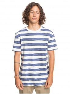 Белый мужская футболка fogi