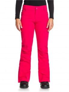 Темно-розовый женские сноубордические штаны creek