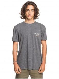 Серый мужская футболка quik local shaper