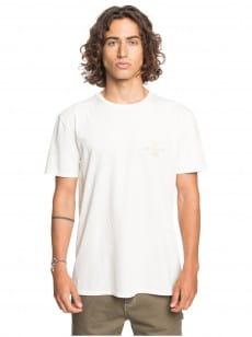 Белый мужская футболка desert trippn