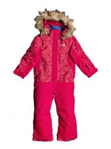Черный детский сноубордический комбинезон paradise 2-7