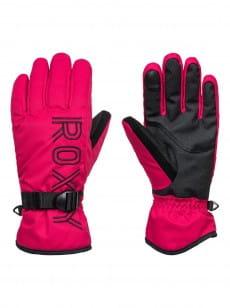 Красные женские сноубордические перчатки freshfield