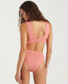 Розовые женские плавки бикини sand dunes maui rider