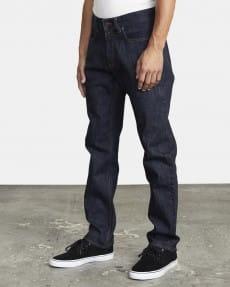 Синие прямые мужские джинсы weekend