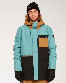 Голубой мужская сноубордическая куртка arcade
