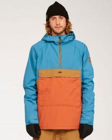 Голубой мужская сноубордическая куртка stalefish