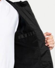 Черный водонепроницаемая мужская куртка wolfeboro alder