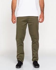 Бордовый мужские брюки-чинос howland classic