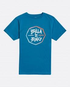 Голубой детская футболка octo
