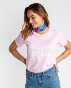 Голубой женская футболка lagunilla