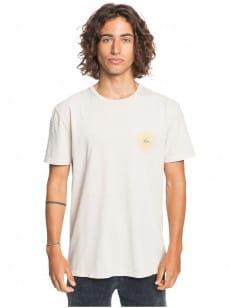 Бежевый мужская футболка earth core
