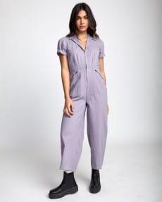 Фиолетовый женский комбинезон lilli