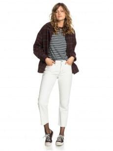 Серый женские широкие джинсы womens