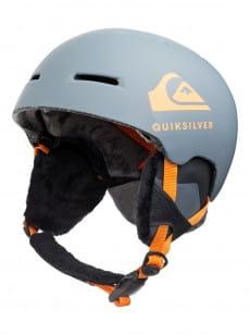 Серый мужской сноубордический шлем theory
