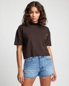Черный женская футболка stacey rozich eye see all