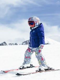 Мультиколор детский сноубордический шлем slush