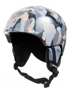 Бежевый детский сноубордический шлем slush