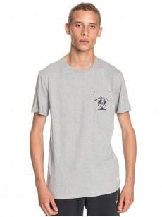 Серый мужская футболка entre pin et mer