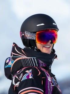 Женский сноубордический шлем Angie POP Snow SRT