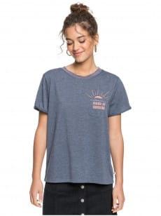Синий женская футболка breezy ocean
