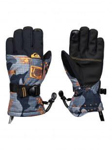 Бежевые детские сноубордические перчатки mission 8-16