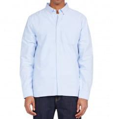 Мужская рубашка с длинным рукавом Oxford