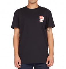 Черный мужская футболка company goods