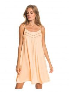 Персиковый женское платье rare feeling